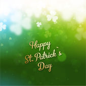 St Patricks Tag Hintergrund — Stockvektor