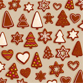 Christmas Cookies Set — Stock Vector