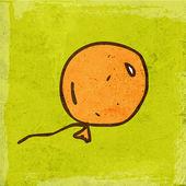 Cartoon Balloon. — Stock Vector