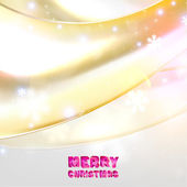 Abstract Christmas Background for Winter — Stock Vector