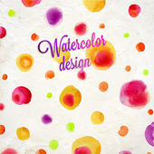 Abstract aquarelle background. — Vecteur