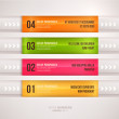 Modern infographic template for business design. — Stock Vector #43368661