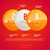 σύγχρονη infographic πρότυπο για επιχειρηματικό σχεδιασμό. — Διανυσματικό Αρχείο