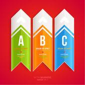 Moderne infographic sjabloon voor zakelijke design. — Stockvector