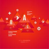 业务设计的现代信息图表模板. — 图库矢量图片