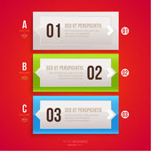 Modern infographic template for business design. — Vetorial Stock
