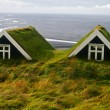 Hobbit homes — Stock Photo