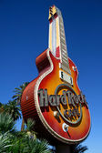 Hard Rock Cafe Guitar Las Vegas — Stock Photo