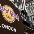 Stock Photo: Hard Rock Cafe London Entrance