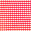 Detailed red picnic cloth background - Stock Photo