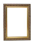 Marco de oro vacío vintage — Foto de Stock