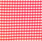 Detailed red picnic cloth background — Stock Photo