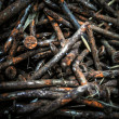 Stock Photo: Rusty nails