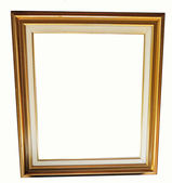 Moldura de ouro clássica — Fotografia Stock