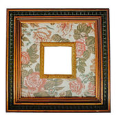 Vintage wood frame — Stock Photo