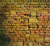 Vintage brickwall background — Foto Stock