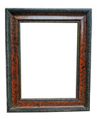 Antique double frame — Stock fotografie