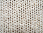Closeup of knitted fabric texture — Stock Photo