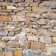 Closeup stone wall — Stock Photo