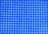 Blue tiles background — Stock Photo