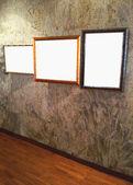 Gallery frame Wall — Stok fotoğraf