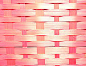 Abstract pink wicker basket — 图库照片