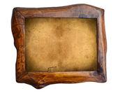 Wooden vintage frame — Zdjęcie stockowe