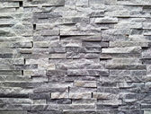 Black stone wall — Foto de Stock
