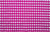 Pink picnic cloth — Stock Photo