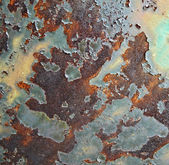 Rusted metal background — Foto Stock
