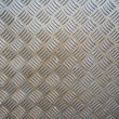 Stock Photo: Metal ribbed surface