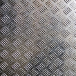 Royalty-Free Stock Photo: Old metal ribbed surface