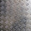 Stock Photo: Old metal ribbed surface