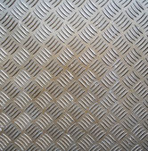 Metal ribbed surface — Stock Photo