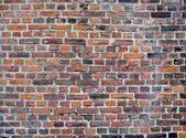 Retro tuğla duvar — Stok fotoğraf