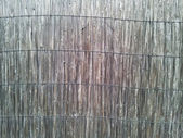 Old reed wall texture — Stock Photo