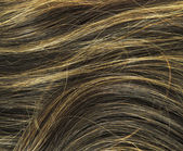 Brown woman hair texture — Stock Photo