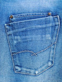 Blue Jeans Tasche. — Stockfoto