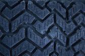 Close up of car tire texture background — Stock Photo