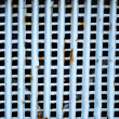Rusty metal grid for background — Stock Photo