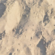 Sand texture on the beach — Stock Photo