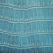 Turquoise leather structure background — Stock Photo