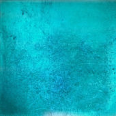 Grunge vintage turquoise background — Stock Photo