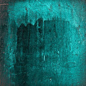Turquoise grunge background — Stock Photo