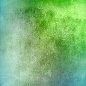 ビンテージ緑および青のテクスチャの背景 — ストック写真