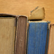 Stack of old books — Stockfoto