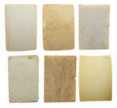 Collection of old blank paper — Stock Photo