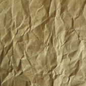 Old vintage crumpled paper background — Stock Photo
