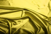 Yellow silk background — Stock Photo
