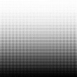 Stock Photo: halftone dots background